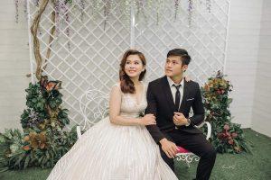 Cavat bản nhỏ bóng đen chụp ảnh cưới