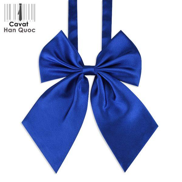 Nơ đeo cổ nữ xanh dương