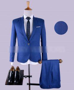 cà vạt nam màu xanh