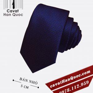 cà vạt xanh than sần