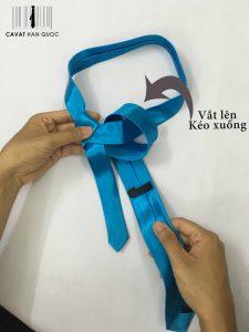 các cách thắt cà vạt bản nhỏ