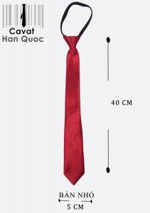 Cà vạt khóa kéo phù hợp cho học sinh nam nữ