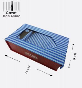 tie gift blue striped blue Viet Nam for sell