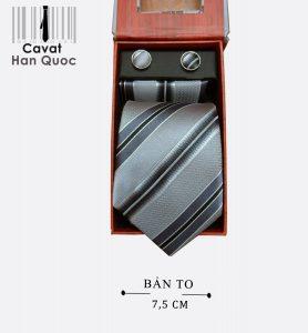 Cà vạt quà tặng ghi kẻ sọc