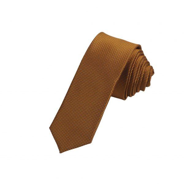 Cà vạt vàng đồng sần A401