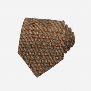 Caravat silk tự nhiên nâu vàng cát