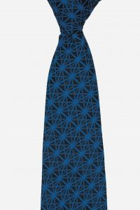 Cà vạt silk tự nhiên với họa tiết đan chéo độc đáo