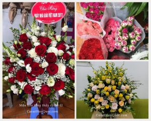 Mẫu hoa tặng cô giáo ngày 20-11