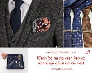 Phụ kiện áo vest là món quà tinh tế