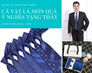 Cà vạt là món quà ý nghĩa tặng thầy giáo nhân ngày nhà giáo Việt Nam
