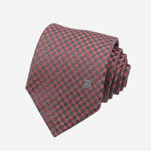 Cà vạt Hàn Quốc lụa cao cấp màu ghi