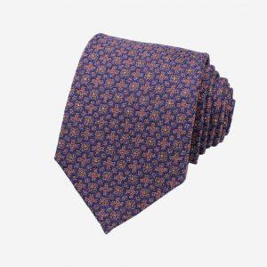 Cà vạt silk tự nhiên bản to 8cm
