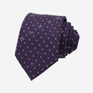 Cà vạt Hàn Quốc bản to đính đá