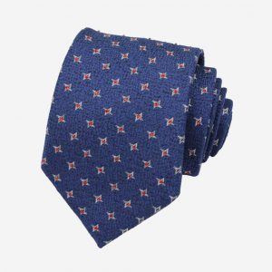 cà vạt Hàn Quốc xanh than đính đá