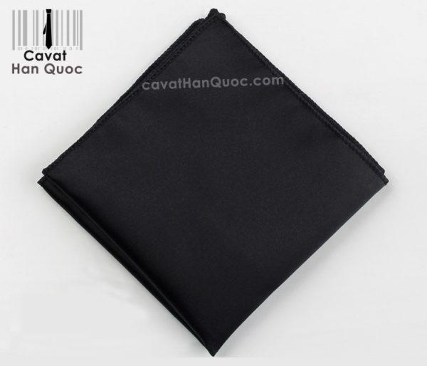 Khăn áo vest đen trơn