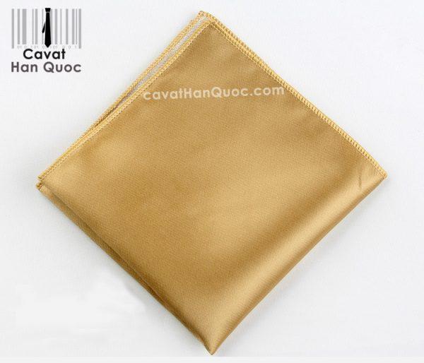 Khăn áo vest vàng trơn
