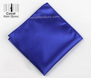 Khăn áo vest xanh dương trơn
