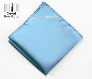 Khăn áo vest xanh ngọc trơn