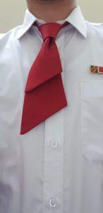 Cà vạt đồng phục nam nữ ngân hàng Agribank