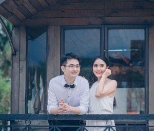 Nơ cổ áo sơ mi nam dùng khi chụp ảnh cưới