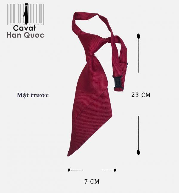 cà vạt đỏ mận đồng phục agribank
