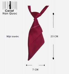 Cà vạt đồng phục agribank kích thước 23 cm x 7 cm